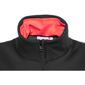 Sportful Luna Softshell Jacket Women black/coral fluo